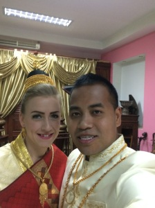 married in Laos, Fit Two Travel
