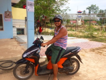 rent a moped in Koh Lanta